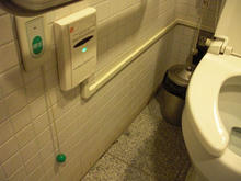 江戸東京たてもの園 店蔵型休憩棟多目的トイレ