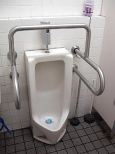 いなげや小平学園西町店 外トイレ