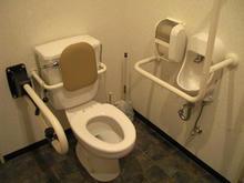 谷戸橋地区センターかわせみ館多目的トイレ