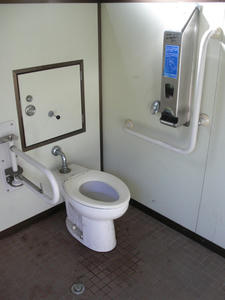 下の川緑地せせらぎ遊歩道公園 展望広場トイレ