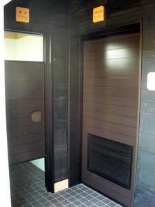 Aさんの庭トイレ