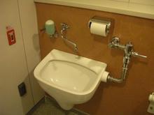 用賀駅 駅前地下多目的トイレ