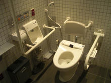 ルミネマン渋谷店多目的トイレ