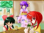 博麗神社のお茶会