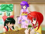 博麗神社のお茶会改