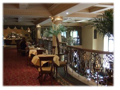 グランドホテルウィーンの内部