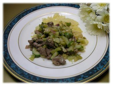 ラム肉のヨーグルトソース