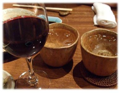 ワインと焼酎