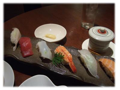 寿司と茶碗蒸し2