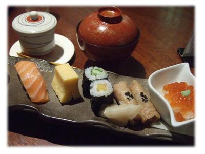 寿司と茶碗蒸し3