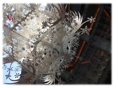 白いクリスマスツリー2