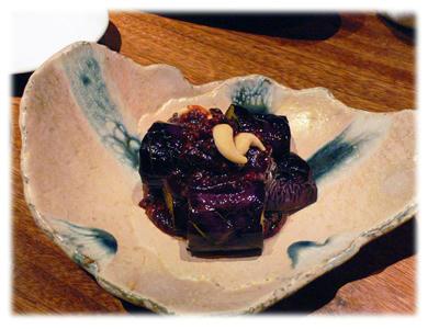 茄子の挽肉炒め