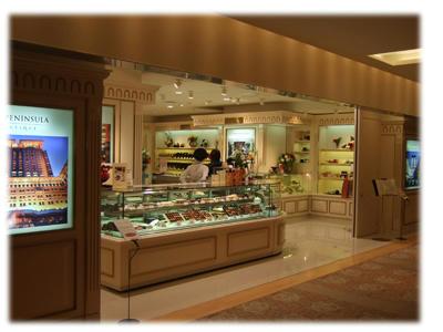 ペニンシュラチョコレート売り場