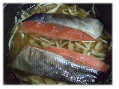 鮭とイクラご飯炊飯器