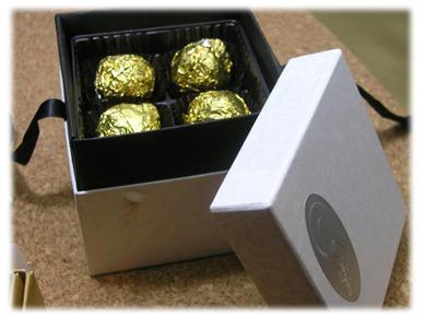 パティスリージャックのチョコレート
