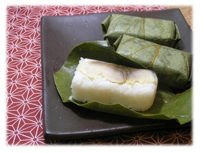 柿の葉寿司2
