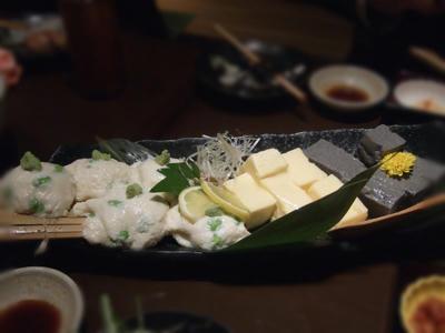 豆腐いろいろ