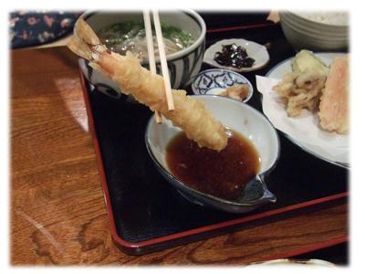 天ぷら定食2