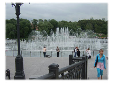 美術館と公園