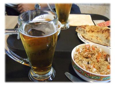 プロフとビール