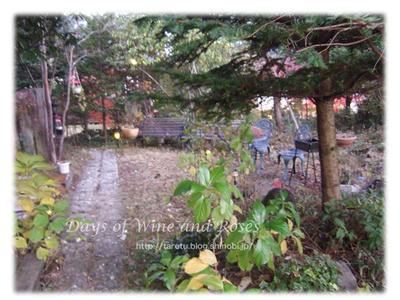 小さなホテル森のうた庭