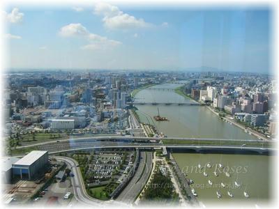 新潟駅から見る風景