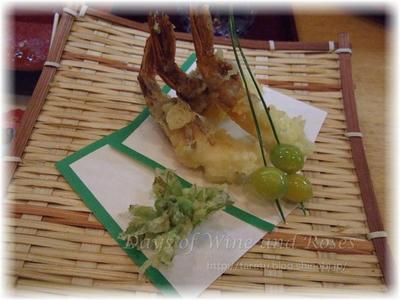 もさ海老の天ぷら