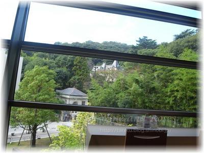 カフェから見る外の風景