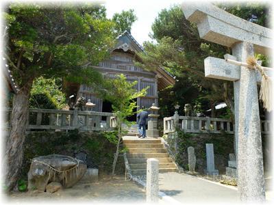 太祖神社社殿
