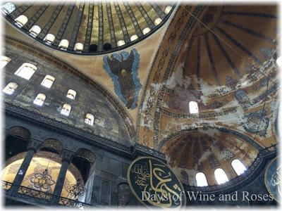 ビザンチン帝国の遺産 聖ソフィア大聖堂(アヤソフィア) 酒とバラの日々