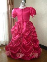キューティーピンクドレス背面