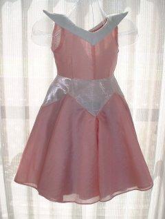 オーロラ姫風ドレス