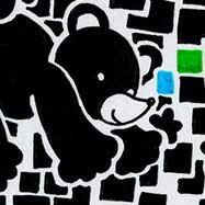 クマと四角