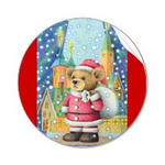 Christmas picture - Father Christmas in Teddy Bear