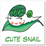 Cartoon character - Cute snail