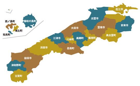 島根県地図