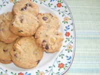 Chocolate Macademia Cookies