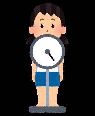貧乳保育士のための恋愛講座 体重計