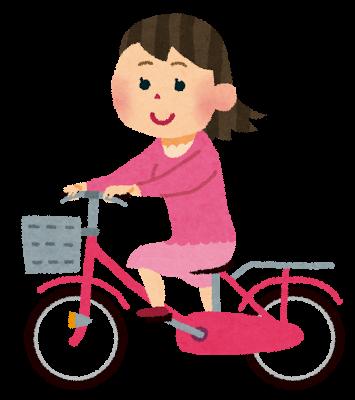 自転車に乗る転職に不安な保育士