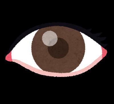 人前が苦手な保育士の目の色