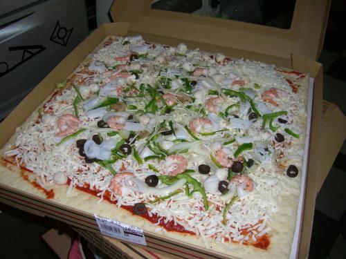 超特大ピザ