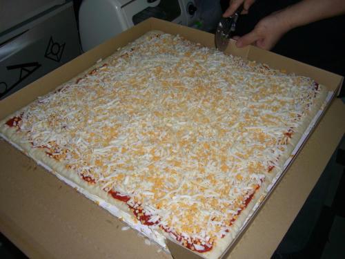 超特大ピザ2
