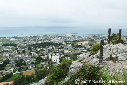 伊江島タッチューからの景色