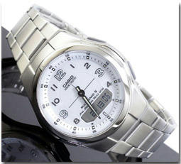 カシオ CASIO WAVECEPTER 電波 ソーラー 腕時計 WVA-M480D-7AJF