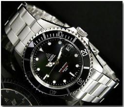 エルジン ELGIN 腕時計 DEEP SEA 自動巻き FK531