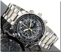 セイコー SEIKO 腕時計 クロノグラフ アラーム SNA411P1