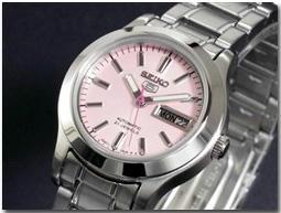 セイコー 5 SEIKO ファイブ 腕時計 自動巻き レディース SYMD91K1
