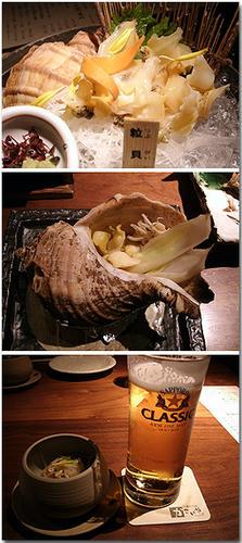 つぶ貝 粒貝 札幌 クラシック