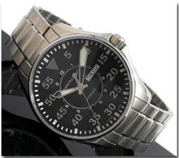 ハミルトン HAMILTON 腕時計 カーキ パイロット H64611135