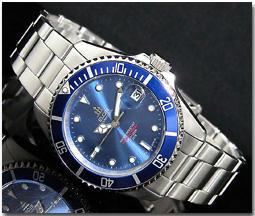エルジン ELGIN 腕時計 自動巻き メンズ FK531S-BL2N
